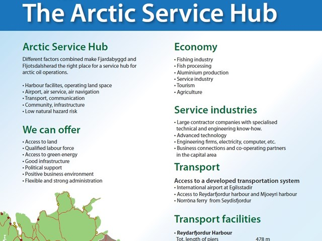 The Arctic Service Hub 1